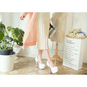 Sapato Feminino Salto Importado - Frete Grátis