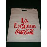 Coca Cola - Bolsas De Publicidad (2) Usadas En Buen Estado