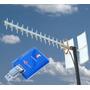 Kit Internet Rural Antena Yagui Bam Adaptadores Cables