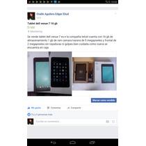 Tablet Dell Venue 7 Compañía Telcel 16gb Memoria 5 Megapixel