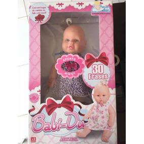 Boneca Babi-du Fala 30 Frases Brinquedos Anjo