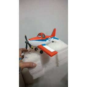 Aviones Cars Adorno De Porcelana Fria