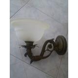 Lámpara De Pared De Bronce