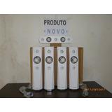 Kit De 5 Caixas Acústicas Sony Brancas 6 Ohms