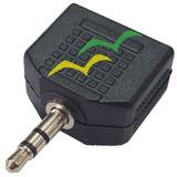Adaptador P2 Duplicador De Áudio P/ Fone De Ouvido 2 Saídas