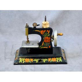 Máquina De Coser Miniatura Marca Casige Origen Alemán