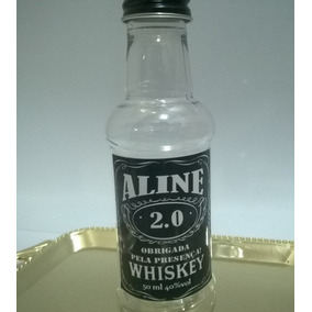 Mini Garrafinhas Bebidas Personalizadas 60 Ml
