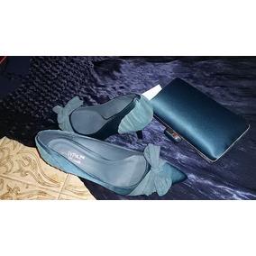 Zapatos De Dama / Bolso De Fiesta Maripaz Nro 38