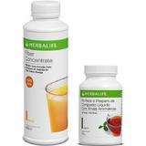 Fiber Concentrate Herbalife + Chá Termogênico Original 100g