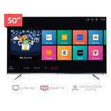 "Tv Led Tcl 50"" Ultra Hd Smart Tv 50p6us"