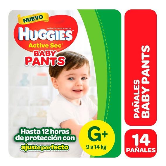 Pa?ales Huggies Active Sec Baby Pants Maxipack P M G Xg Xxg