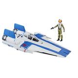 Star Wars Episodio 8 Nave A Wing Y Piloto Hasbro / Diverti