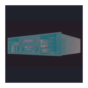 Amplificador Profesional Bunker Mx-6000, 6000 Watts Rms