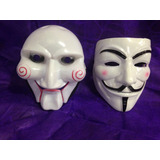 Mascara V Vendetta Vingança Anonymus+jogos Mortais Promoçao