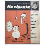Revista Tia Vicenta N° 40 Mayo 1958
