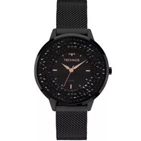0bccfb7916e22 Relógio Feminino Technos Analógico Fashion Com Swarovski 2036lmr 4x ...