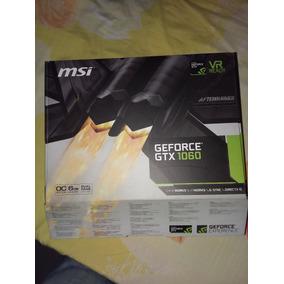 Tarjeta De Video Msi Gtx 1060 6gb Como Nueva.