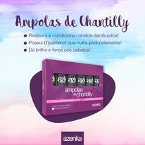 Ampolas De Chantilly Azenka Hidratação Capilar 6 Unid