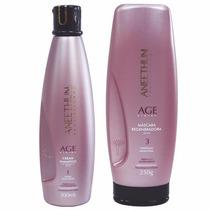 Kit Shampoo Mascara Age System Aneethun Pós Progressiva