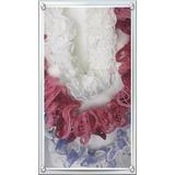 Cachecol De Crochê Sensual Branco