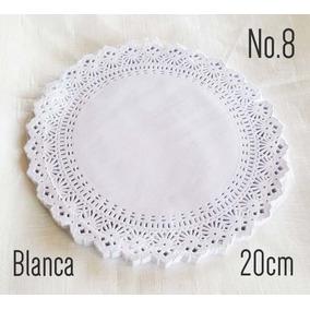 Blondas Carpetas De Papel Blancas 100pzs 20cm No8 Invitacion