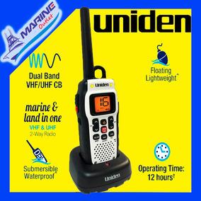 Radio Portatil Vhf Maritimo Uniden Atlantis 150 Homologado