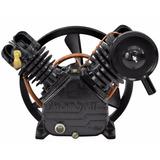 Cabeçote Compressor De Ar 20 Pés Em V Alta Pressão Motomil