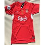 Camisa Liverpool Gerrard 8 - Futebol no Mercado Livre Brasil 414af0e880120