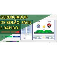 Planilha Bolão Brasileirão Controla E Gerencia (ass Mensal)