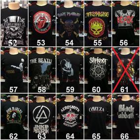 Camiseta Heróis Banda De Rock Games