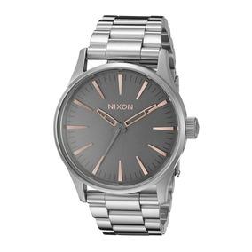 607e0ea5d68 Relogio Nixon Sense Dourado 11e - Relógios De Pulso no Mercado Livre ...