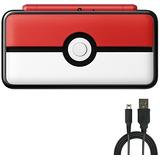 Nintendo 2ds (2 Items) Bundle:nintendo New 2ds Xl - Poke Bal