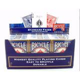Pack De 12 Mazos De Naipes Cartas Bicycle Para Poker Y Magia