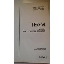 Team English For Technical Schools | Libro Antiguo De Inglés