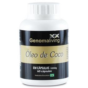 Óleo De Coco 1000mg 60 Cápsulas.