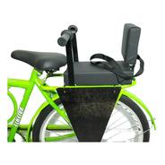Cadeirinha Assento C/ Almofada E Recosto Traseiro P/ Bike