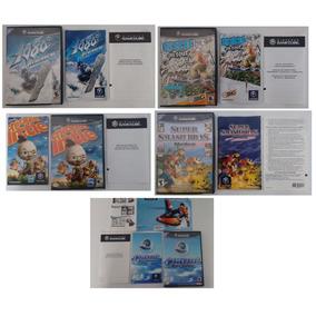 Pacote Com 5 Jogos Para Gamecube!