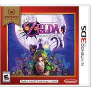 The Legend Of Zelda: Majoras Mask 3d (select) - 3ds