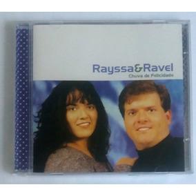 Cd Rayssa E Ravel Chuva De Felicidade Voz E Play Back Zekap