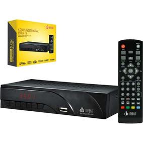 Conversor Digital P/ Tv Visor Led Hdmi Usb Gravador + Nf