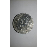 Rarissima Moeda De 50 Réis 1886 Império Do Brazil