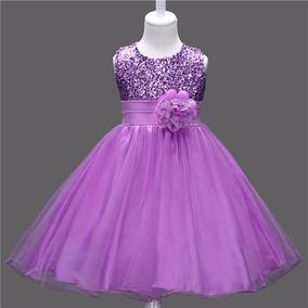 Vestido Infantil De Festa Casamento Princesa Daminha Lindo!!