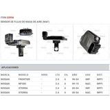 Sensor Maf Nissan Frontier Xterra Np300 20956 Tomco