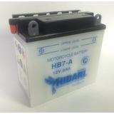 Bateria Hibari Yb7-a 12v 8ah Evo 150 Gn125 Gs125