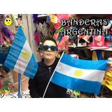 Bandera Argentina Tela - Banderitas Argentinas (pack X 10)