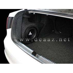 Caixa De Subwoofer 12 Pol. Novo Jetta Sedan Fibra De Vidro