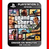 Gta 5 Gta V Ps3 :: Digital :: | Original Subtitulado Español