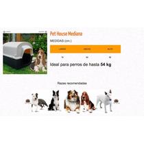 Casita Mediana Pet House Para Perro De 54kg Envio Gratis