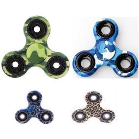 Fidget Spinner Camuflaje Reduce Estres Ansiedad Somos Tienda