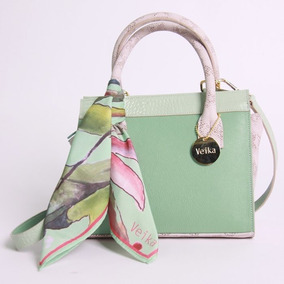 Cartera Amapola Mint